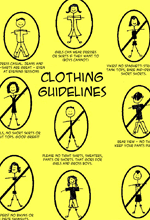Clothing Guidelines 150.220